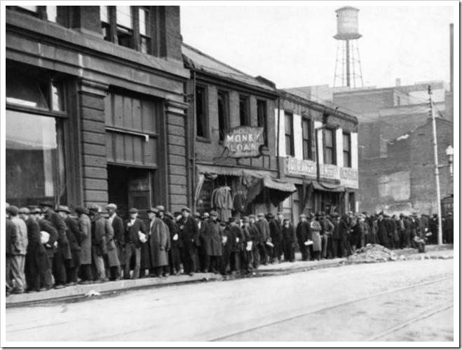 unemploymentline1930s