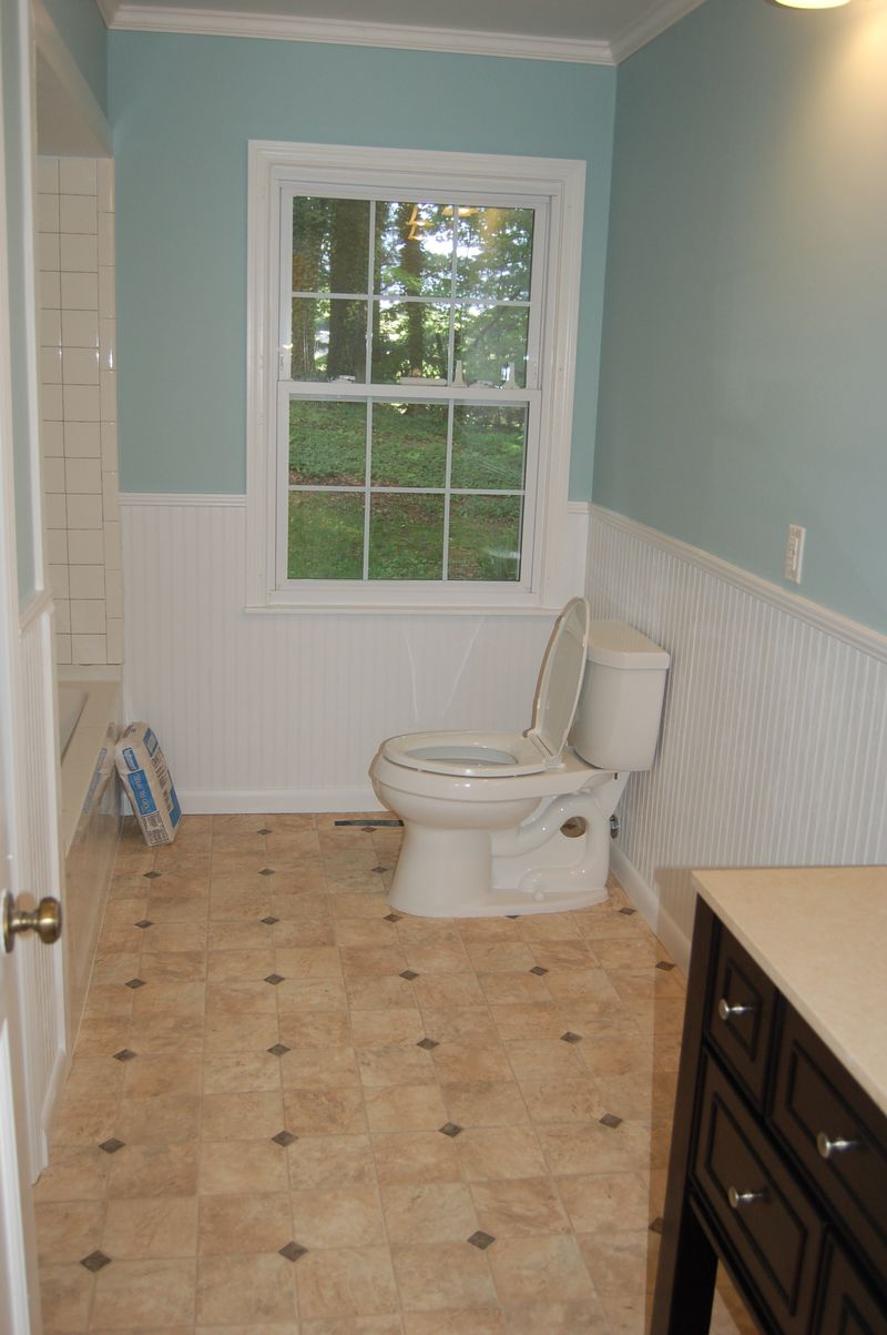 End of school year, bathroom 104